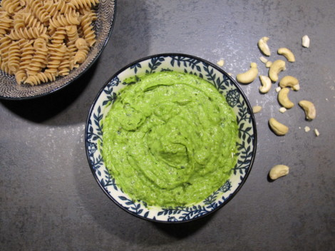pesto épinards